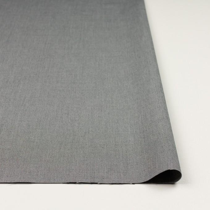 コットン×無地(グレー)×サージ_イタリア製 イメージ3