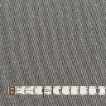 コットン×無地(グレー)×サージ_イタリア製 サムネイル4