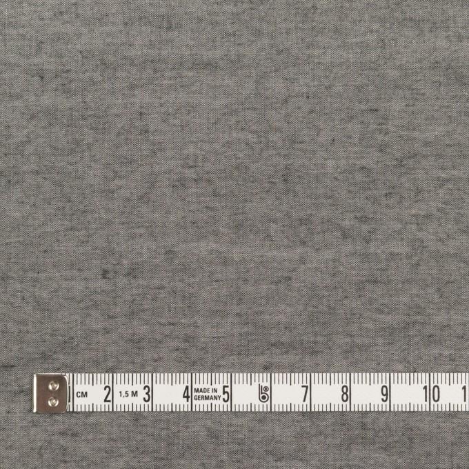 コットン&レーヨン×無地(グレー)×シャンブレー・ローンワッシャー イメージ4