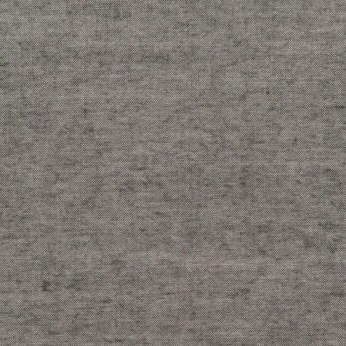 コットン&レーヨン×無地(グレー)×シャンブレー・ローンワッシャー イメージ1