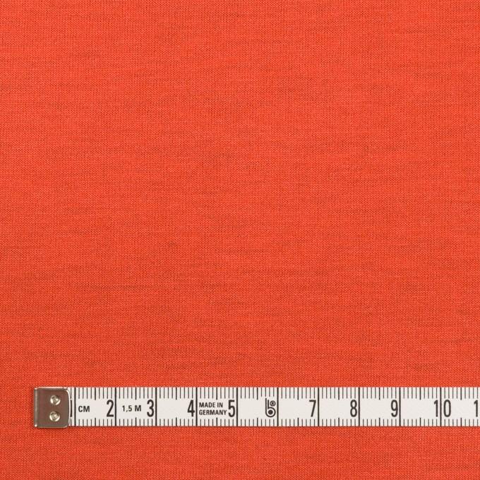 テンセル&ポリエステル×無地(コーラルピンク&パッションオレンジ)×Wフェイス天竺ニット(フォームラミネート加工)_全2色 イメージ6
