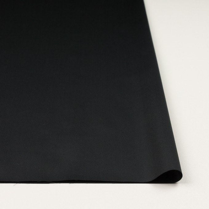 コットン×無地(ブラック)×サテン_全3色 イメージ3