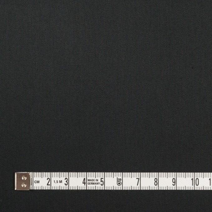 コットン×無地(ブラック)×サテン_全3色 イメージ4