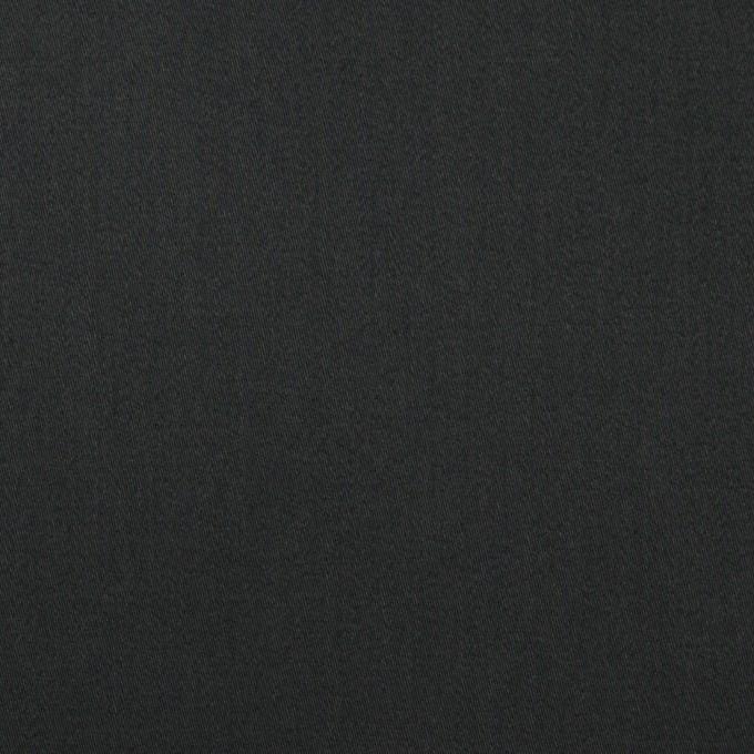 コットン×無地(ブラック)×サテン_全3色 イメージ1
