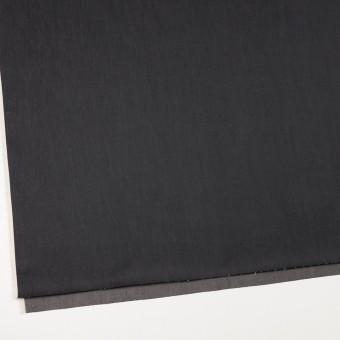 コットン&キュプラ×無地(チャコール)×シャンブレー・ギャバジン_イタリア製 サムネイル2