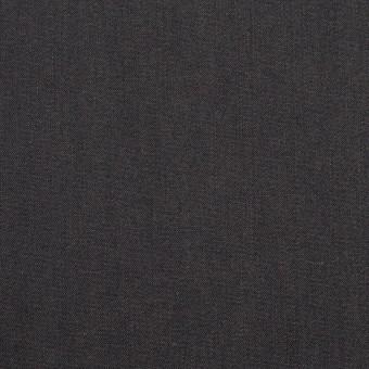 コットン&キュプラ×無地(チャコール)×シャンブレー・ギャバジン_イタリア製 サムネイル1
