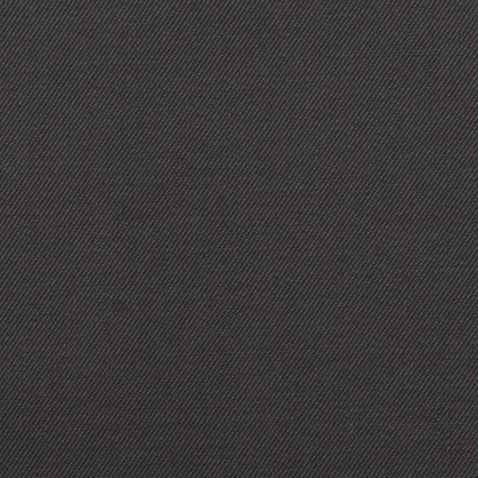 コットン×無地(チャコール)×ギャバジン_イタリア製 イメージ1