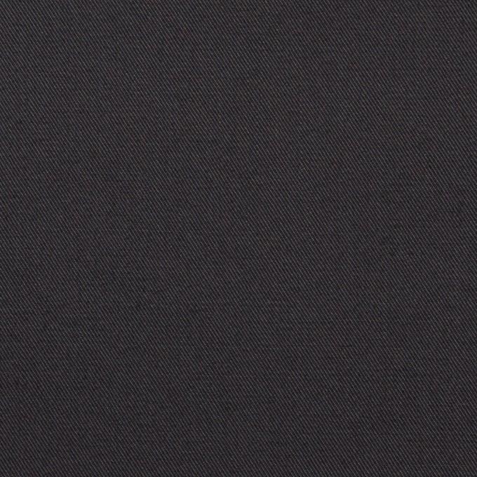 コットン×無地(チャコール)×ギャバジン イメージ1