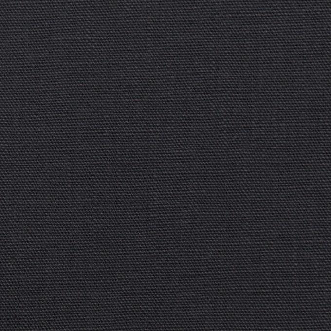 コットン×無地(チャコール)×キャンバス イメージ1