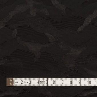 コットン&ナイロン×迷彩(ブラック)×ジャガード_全2色 サムネイル4