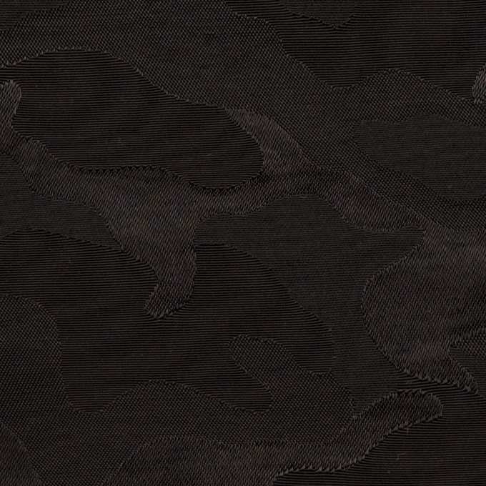 コットン&ナイロン×迷彩(ブラック)×ジャガード_全2色 イメージ1