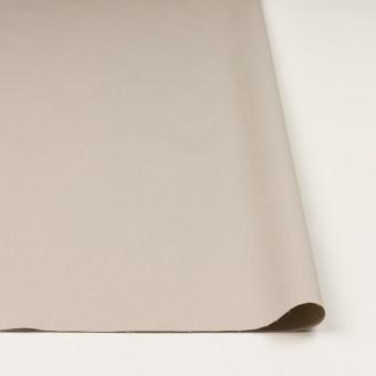 コットン&ポリアミド混×無地(グレイッシュベージュ)×ヘリンボーン・ストレッチ_全2色_イタリア製 サムネイル3