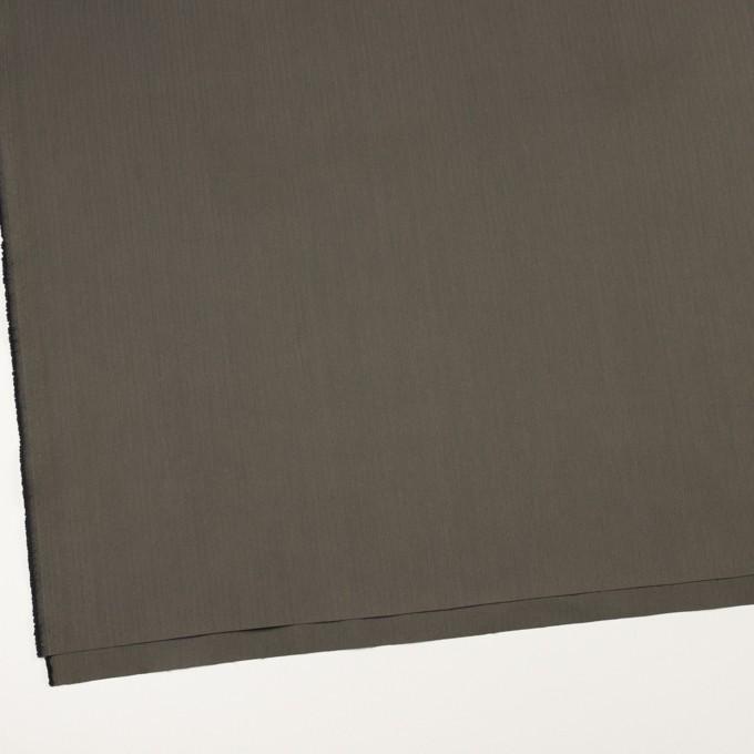 コットン&ポリアミド混×無地(チャコールグレー)×ヘリンボーン・ストレッチ_全2色_イタリア製 イメージ2