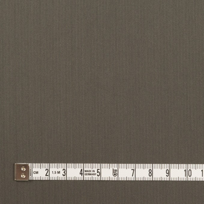 コットン&ポリアミド混×無地(チャコールグレー)×ヘリンボーン・ストレッチ_全2色_イタリア製 イメージ4