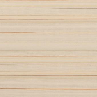 コットン&ナイロン混×ボーダー(ベージュ)×ヨコタック