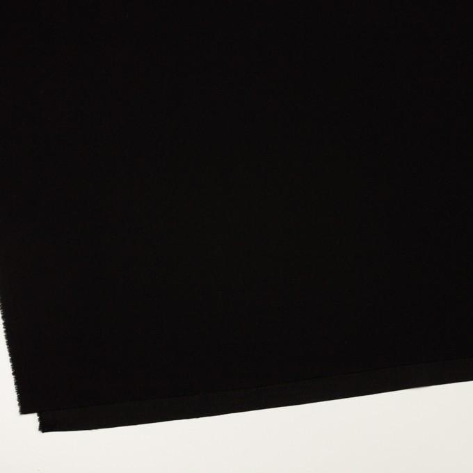 トリアセテート&ポリエステル×無地(ブラック)×バックサテンジョーゼット イメージ2