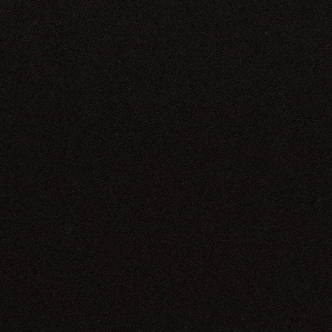 トリアセテート&ポリエステル×無地(ブラック)×バックサテンジョーゼット イメージ1