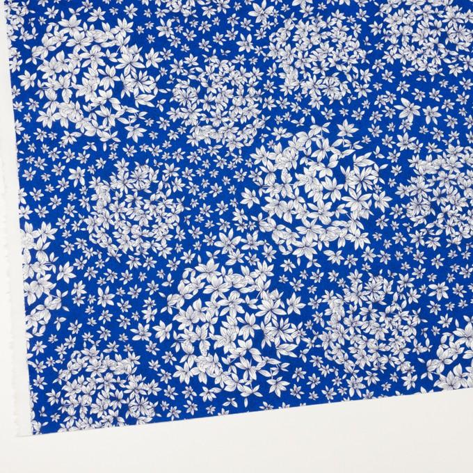 コットン×フラワー(マリンブルー)×ローン_ドイツ製 イメージ2