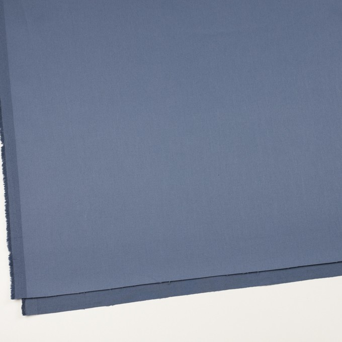 コットン&ポリウレタン×無地(アッシュブルー)×チノクロス・ストレッチ イメージ2