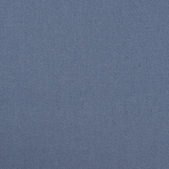 コットン&ポリウレタン×無地(アッシュブルー)×チノクロス・ストレッチ イメージ1