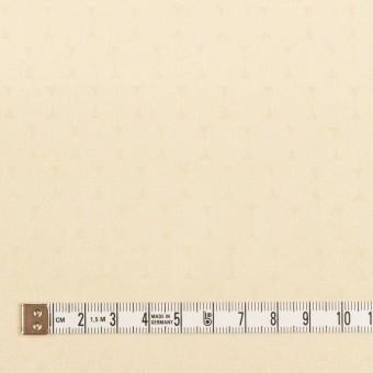 コットン&シルク混×サークル(クリーム)×サテンジャガード サムネイル4