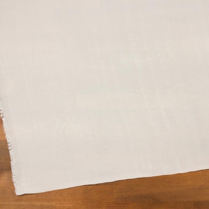 レーヨン&シルク×無地(オフホワイト)×シフォン_全2色 イメージ2