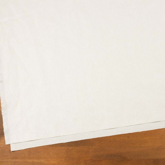 コットン&リネン×ストライプ(ミルク)×ポプリン_全2色 イメージ2