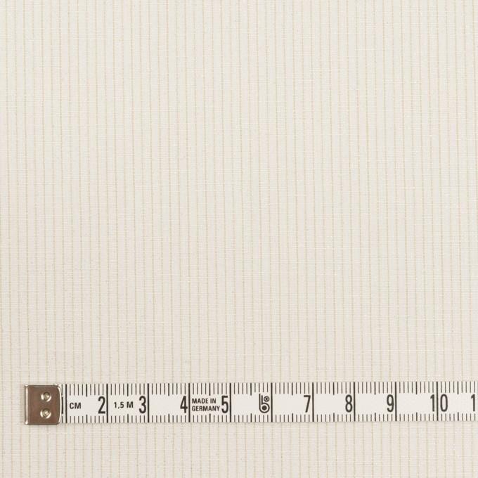 コットン&リネン×ストライプ(ミルク)×ポプリン_全2色 イメージ4