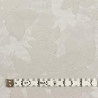 ポリエステル&ナイロン×フラワー(シルバー)×ジャガード サムネイル4