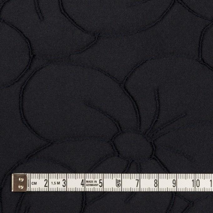 ポリエステル&ナイロン×フラワー(ダークネイビー)×ジャガード イメージ4
