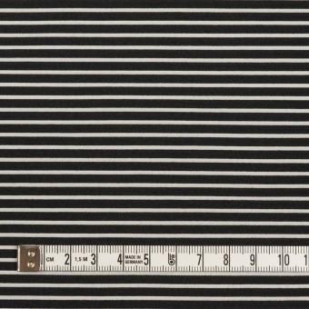 ポリエステル&アクリル×ボーダー(シルバー&ブラック)×二重ジャガード サムネイル4