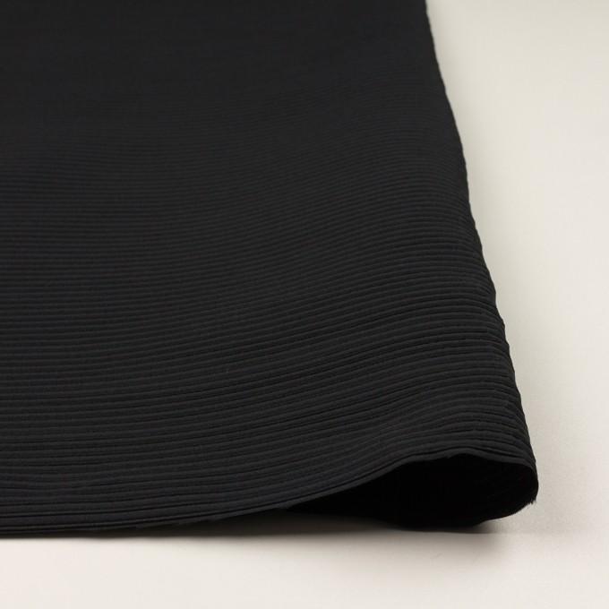 ポリエステル&アクリル×ボーダー(ブラック)×二重ジャガード イメージ3