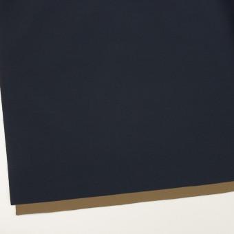 ナイロン&ポリウレタン×無地(ダークネイビー&カーキ)×Wフェイスタフタ・ストレッチ サムネイル2