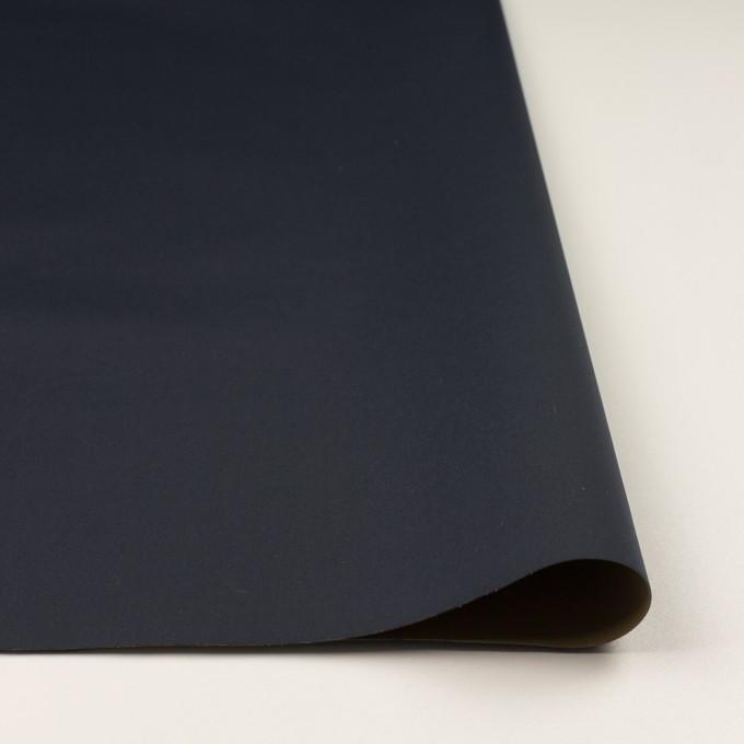 ナイロン&ポリウレタン×無地(ダークネイビー&カーキ)×Wフェイスタフタ・ストレッチ イメージ3