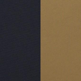 ナイロン&ポリウレタン×無地(ダークネイビー&カーキ)×Wフェイスタフタ・ストレッチ サムネイル1