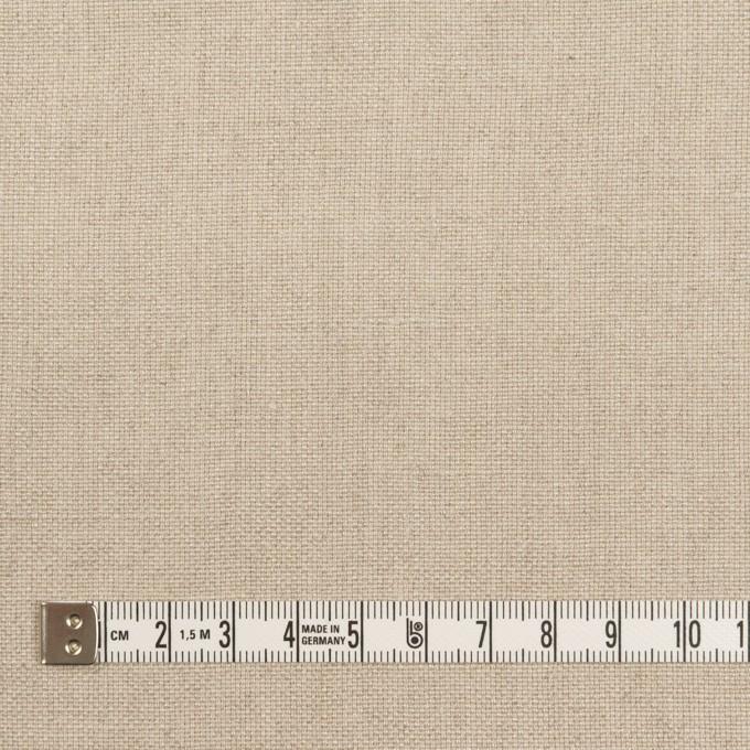 リネン×無地(グレイッシュベージュ)×オックスフォード イメージ4