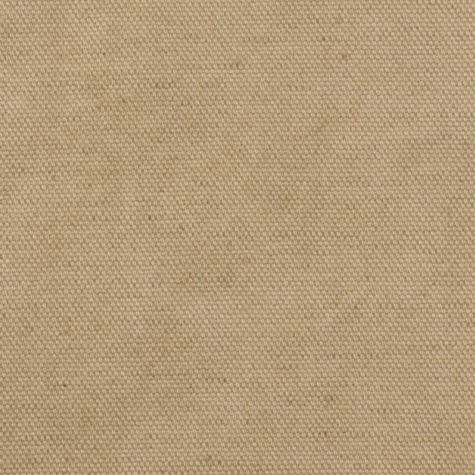 コットン&リネン×無地(カーキ)×厚オックスフォード イメージ1