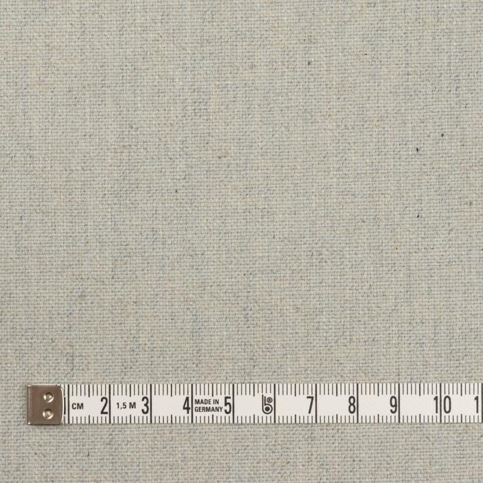 コットン&リネン×無地(サックス)×厚オックスフォード イメージ4