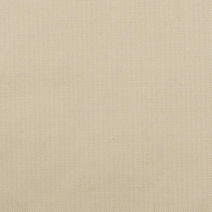 コットン×無地(サンドベージュ)×ヘリンボーン・ワッシャー_イタリア製 イメージ1