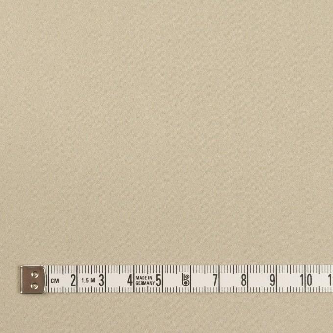 コットン&ポリウレタン×無地(サンドベージュ)×サテンストレッチ イメージ4