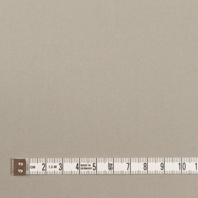 コットン×無地(ストーングレー)×サージ_イタリア製 イメージ4