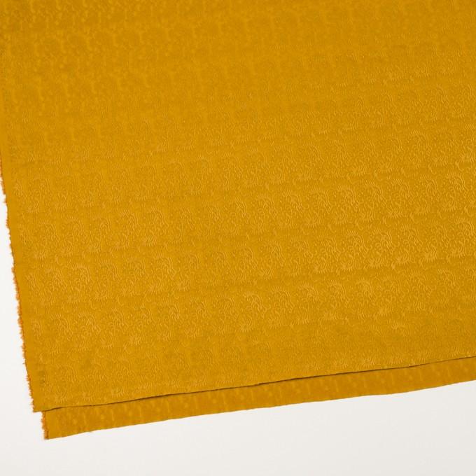 レーヨン&ナイロン×幾何学模様(ハニーゴールド)×ジャガード イメージ2