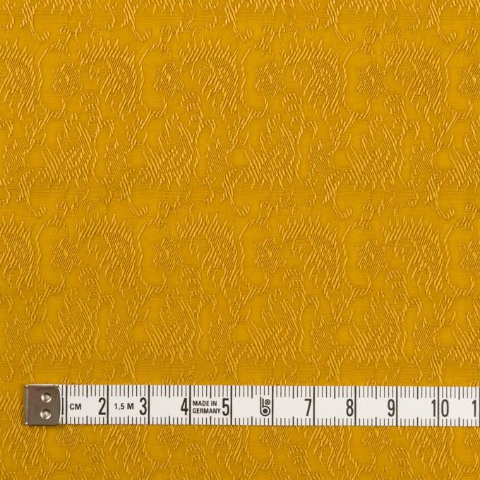レーヨン&ナイロン×幾何学模様(ハニーゴールド)×ジャガード イメージ4