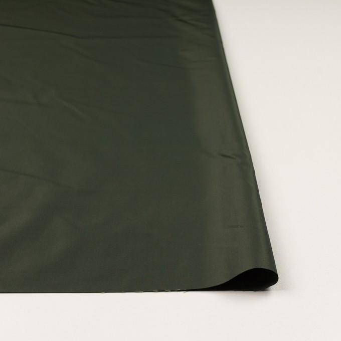 ポリエステル×レース(ディープグリーン&ブラウン)×形状記憶タフタ刺繍 イメージ3