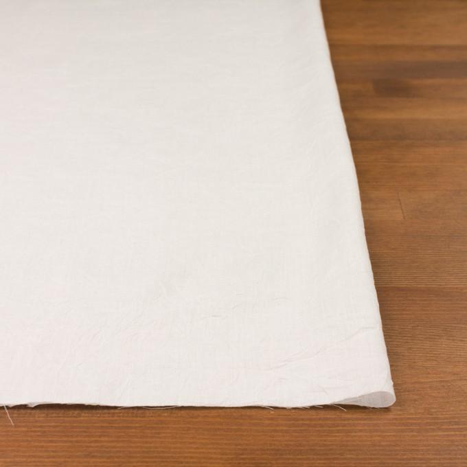 コットン&テンセル×無地(ミルク)×ボイルワッシャー_全3色 イメージ3