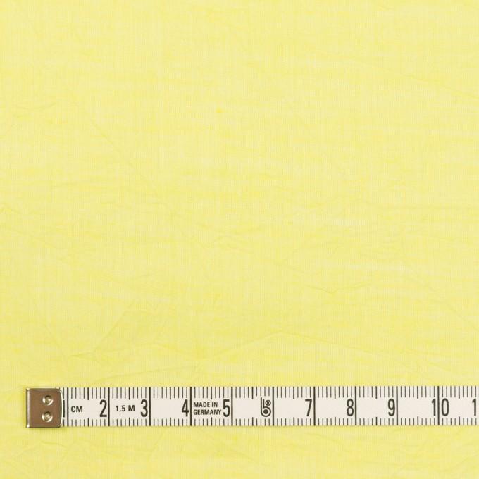 コットン&テンセル×無地(レモンイエロー)×ボイルワッシャー_全3色 イメージ4