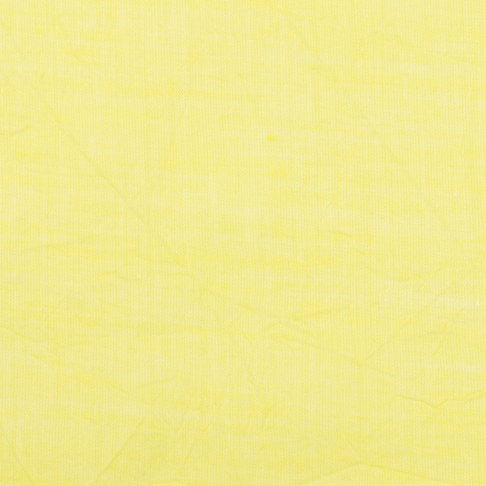 コットン&テンセル×無地(レモンイエロー)×ボイルワッシャー_全3色 イメージ1