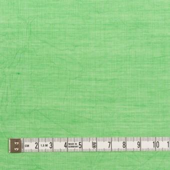 コットン&テンセル×無地(フレッシュグリーン)×ボイルワッシャー_全3色 サムネイル4