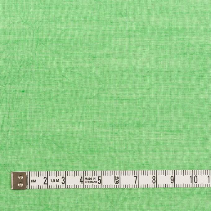 コットン&テンセル×無地(フレッシュグリーン)×ボイルワッシャー_全3色 イメージ4
