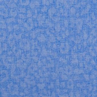 コットン×レオパード(ブルー)×ボイル